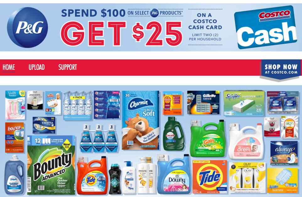 P&G everyday coupons and samples