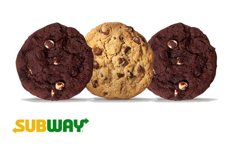 Tell Subway Cookie