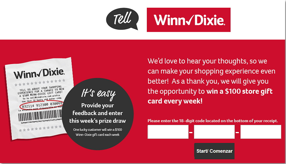 homepage of tellwinndixie.com