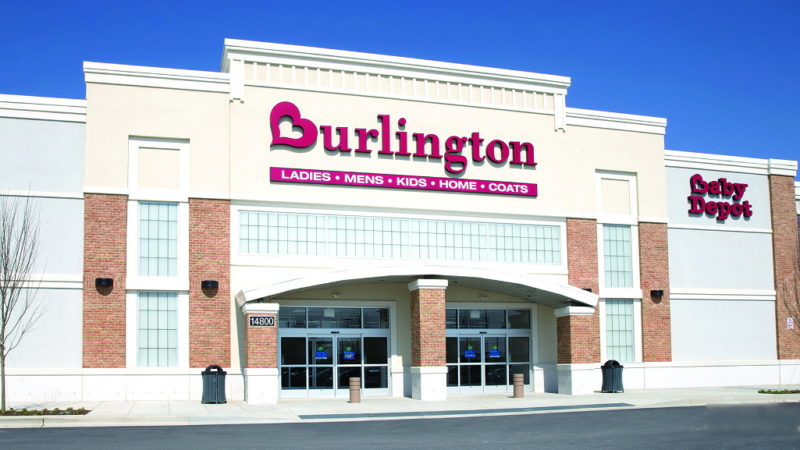 Burlington survey retailer store