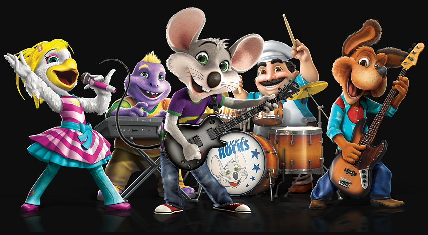 entertainment by chuck e cheese mouses