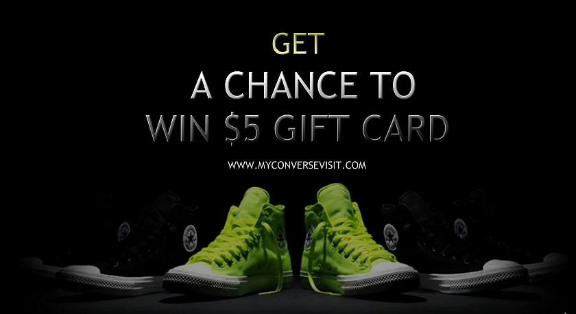 take converse survey and win gift card