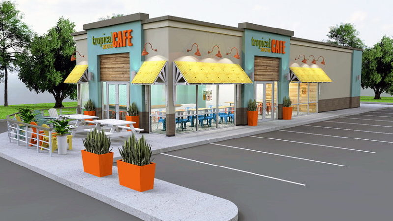 tropical smoothie cafe restaurant