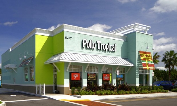 pollo tropical restaurant outer view