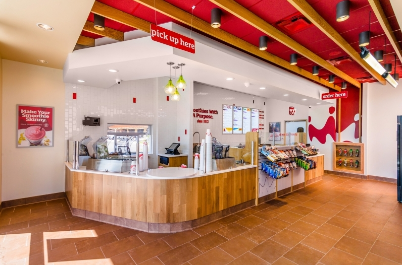 Smoothie King Inside