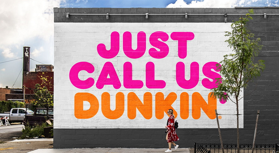 Dunkin Donuts now as Dunkin