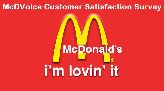 mcdvoice customer survey