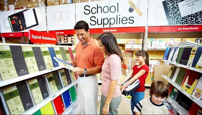 get school supplies at office depot