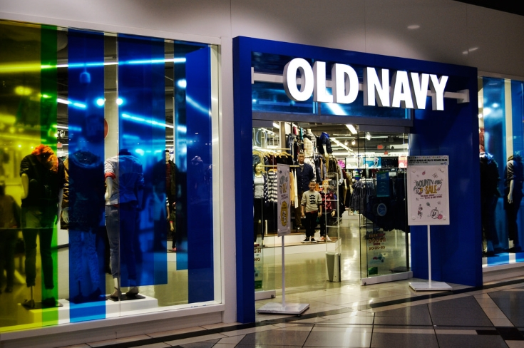 old navy store interior