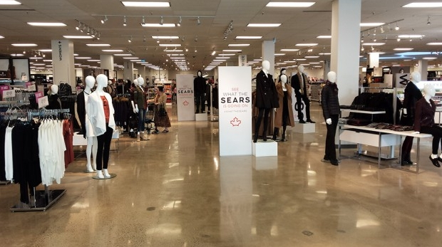 Sears store clothing