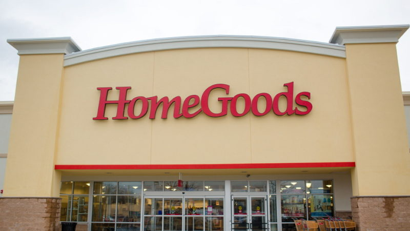 out look of the homegoods store