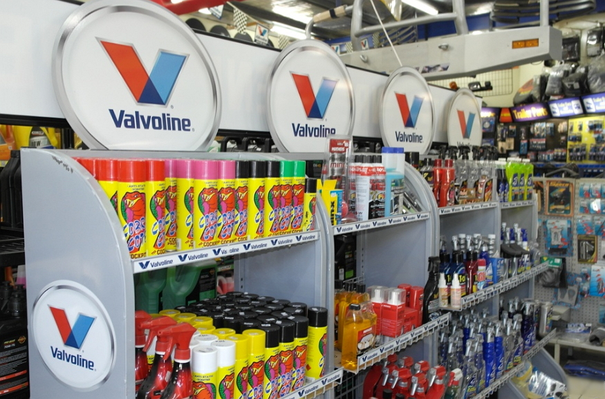 different service parts at valvoline
