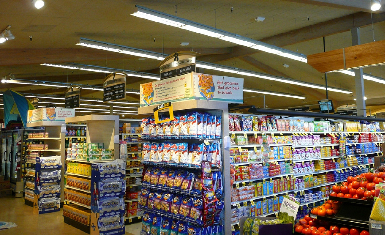 inside the vons store